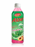 Aloe Vera Juice Drink With Peach Flavour